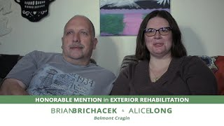 Meet Alice Long & Brian Brichacek, Exterior Rehab Awardees | 15th Annual Driehaus Bungalow Awards