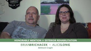 Meet Alice Long & Brian Brichacek, Exterior Rehab Awardees | 15th Annual Driehaus Bungalow Awards