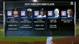 ATL@PHI: Broadcast on the 2017 Hall of Fame class