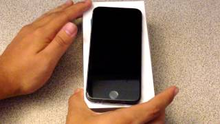 iPhone 6 Unboxing & Overview [Space Grey]