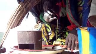 Mli Nijer Nehri Tuareg    Çay  Vakti
