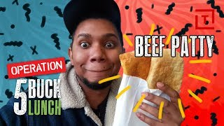 The Best Cheap Beef Patty in NYC || 5 Buck Lunch