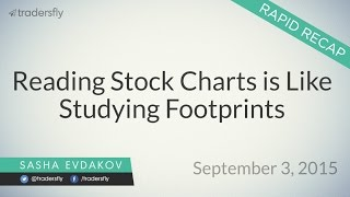 Reading Stock Charts is Like Studying Footprints