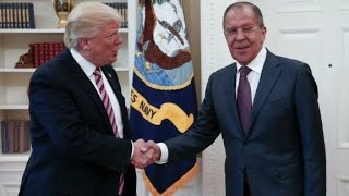 Trump defends meeting Lavrov after firing Comey
