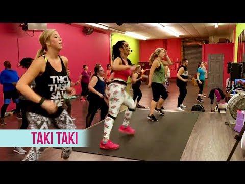 """Taki Taki"" - Dance Fitness With Jessica"