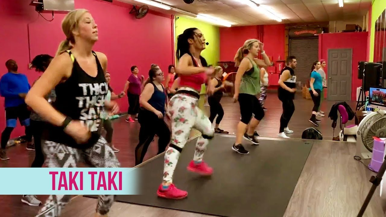 """Taki Taki"" - Dance Fitness With Jessica"
