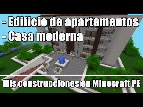 Edificio de apartamentos y casa moderna mis for Construcciones de casas modernas