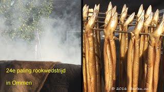 Paling roken in Ommen 2016