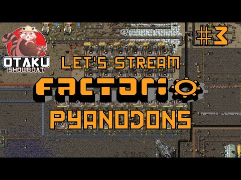 Processed Iron Hot Air Smelting | Pyanodon's Off The Rails Factorio | Stream Day 3