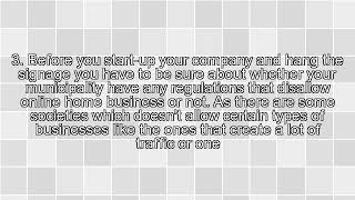 The Best Ways to Minimize the Issues Related to Home Businesses