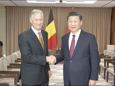 Xi Meets Belgian King, Emphasizing Pragmatic Cooperation