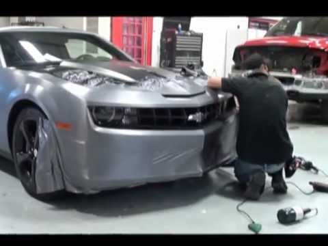 Camaro Vinyl Wrap By Revolution Wraps Omaha Lincoln Youtube