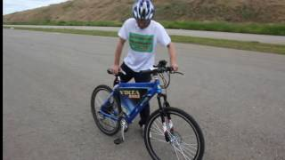 Тест драйв редукторного мини мотор колеса 48v500w Volta bikes.(На видео снят один из первых тест драйвов редукторного мини мотор колеса 48v500w Volta bikes, с контроллером 60v1000w...., 2016-12-07T06:18:22.000Z)