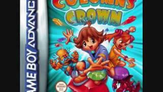 Columns Crown - Title Screen