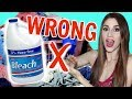 7 Ways You're Doing Your Laundry Wrong | Laundry Hacks [ But First, Coffee ]