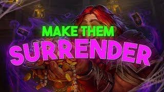 MAKE THEM SURRENDER HEARTHSTONE GAMEPLAY
