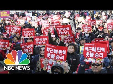 South Koreans Celebrate Court's Removal Of President Park | NBC News