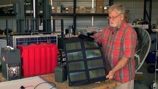 Lights On: DIY Portable, Off Grid Solar Power