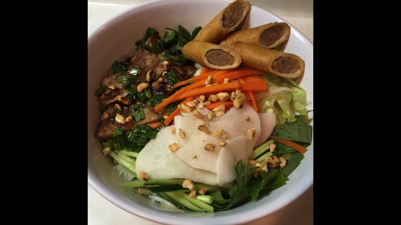 Easy bun thit nuong recipe