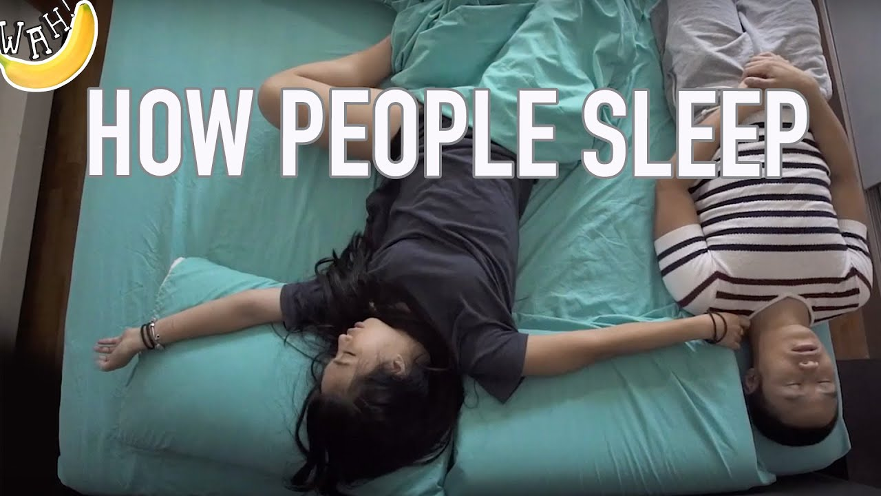 How People Sleep