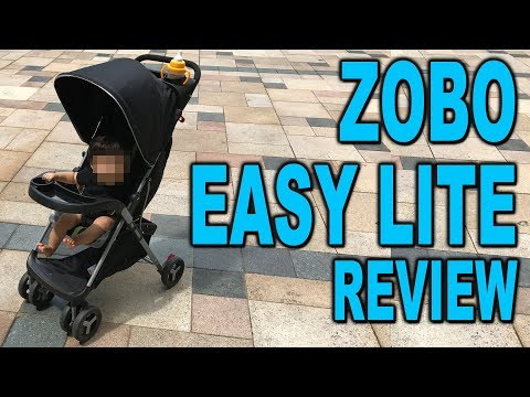 Zobo EasyLite Stoller Review – Clueless Dad