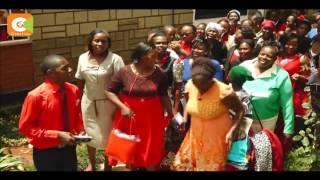 Waliofunga ndoa ya shilingi 100 wafanya harusi kubwa