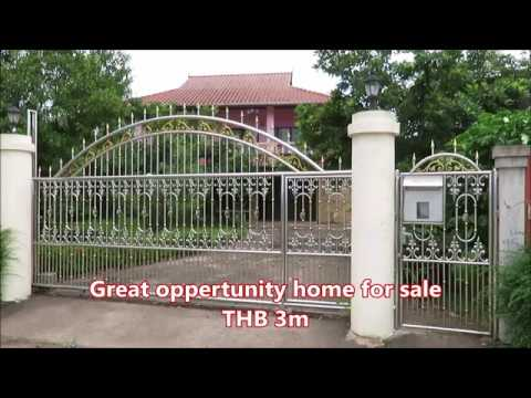 Detached house for sale in Thailand,