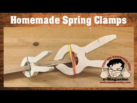 Easy & Cheap Homemade Spring Clamps!