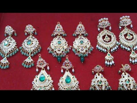 New Rajputi Earrings Design New Design Earrings Wedding