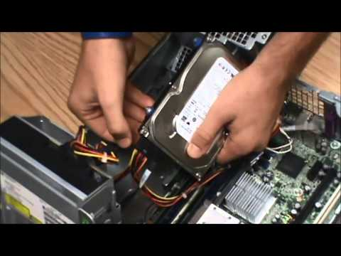 How to: Exchange a Hard Drive on HP dc7900