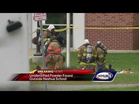 Suspicious powder outside Nashua school not toxic