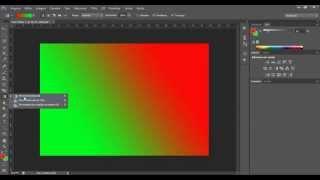 Como fazer degradê no Photoshop CS6. Tutorial básico Photoshop CS6.