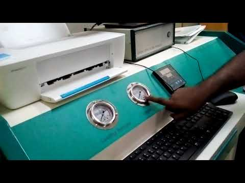 Universal Testing Machine working procedure part-01