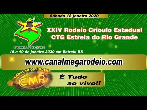 Abertura XXIV Rodeio Crioulo Estadual do CTG Estrela do Rio Grande - 18-01-2020