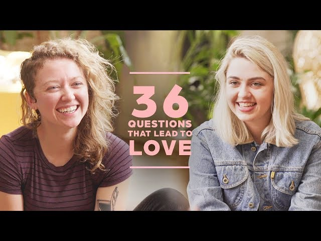 Can 2 Strangers Fall in Love with 36 Questions? Kellyann + Audrey
