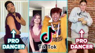 Professional Dancers Try TikTok Dances