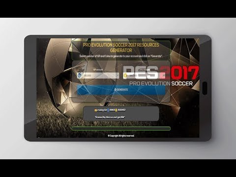 PES 2017 Hack   9,000,000 Free Coins GP Cheats Ios Android Windows Pro Evolution Soccer