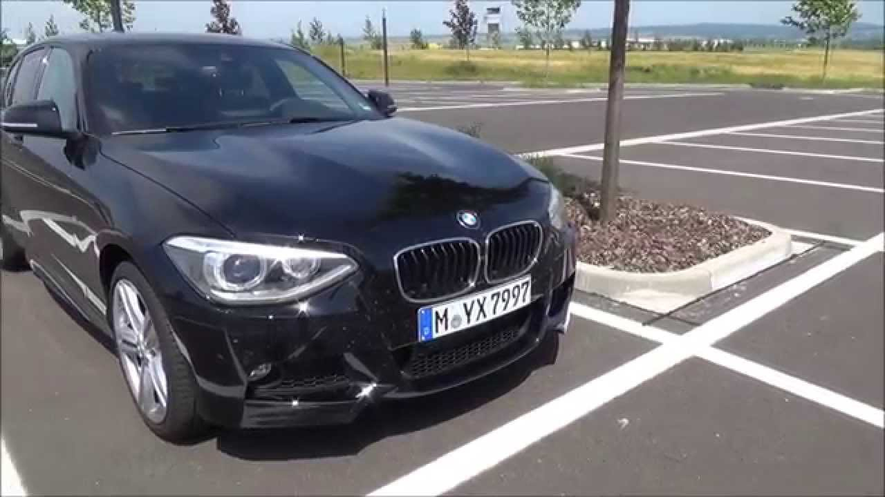 bmw 120d xdrive m paket 1er f20 test probefahrt drive youtube. Black Bedroom Furniture Sets. Home Design Ideas