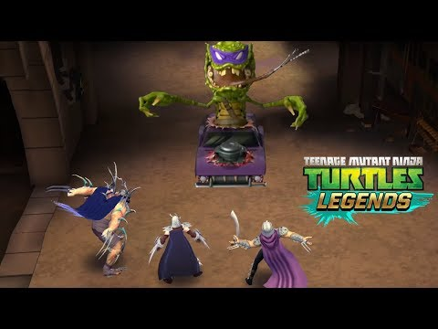 Черепашки-Ниндзя: Легенды - ВСЕ ШРЕДДЕРЫ ПРОТИВ ЧЕРЕПАШЕК (TMNT Legends UPDATE X)