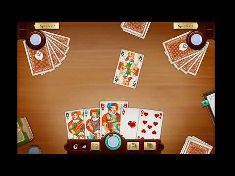 Skat lernen bei GameDuell: Detlef Plewnia spielt Skat Masters Qualifikation - Teil 1