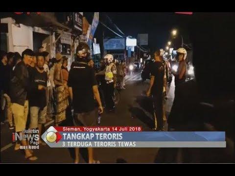 Baku Tembak di Kaliurang Yogyakarta, 3 Terduga Teroris Tewas di Tempat - BIP 15/07