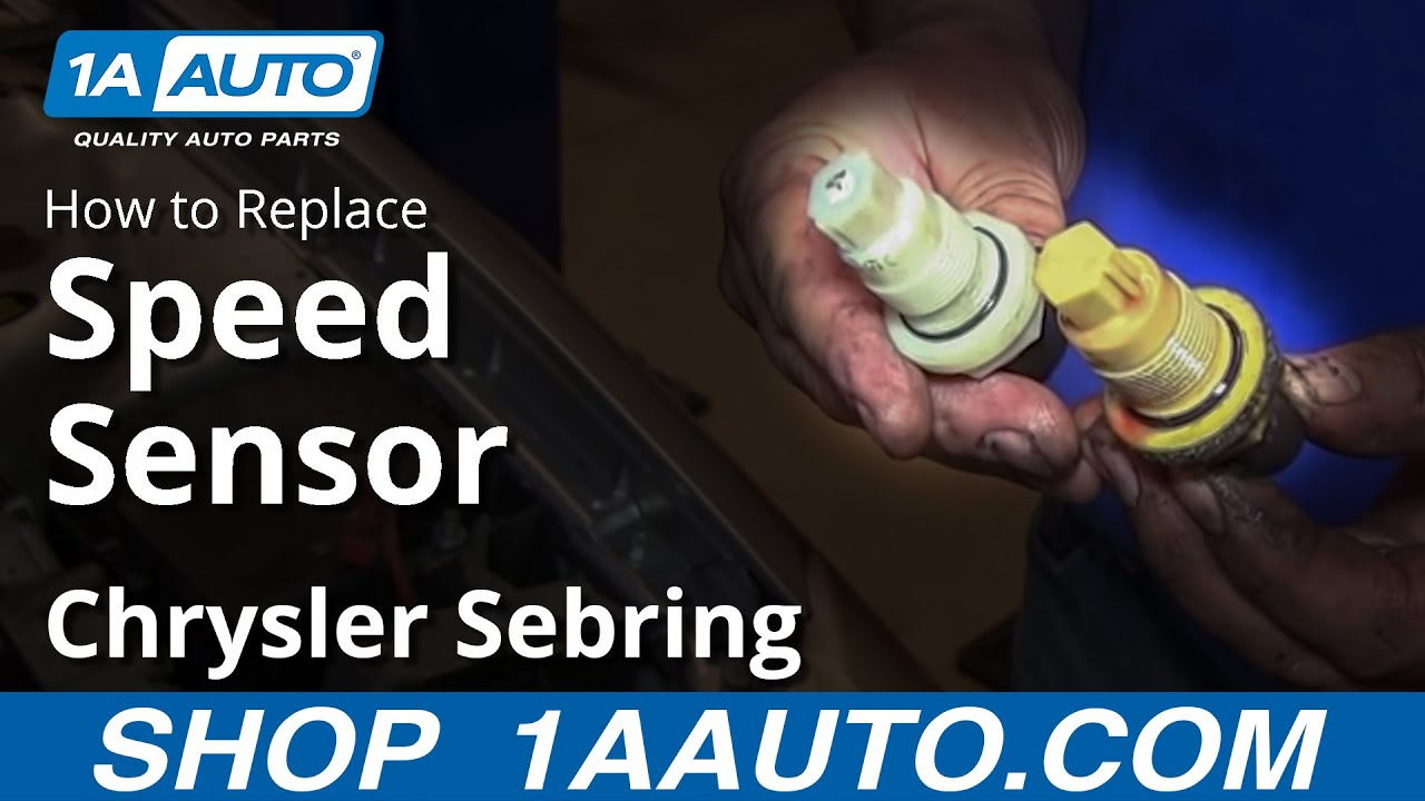 medium resolution of how to install replace speedometer input sensor chrysler dodge automatic transmission