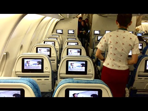Cathay Pacific A330 Economy class | CX174 Adelaide to Hong K