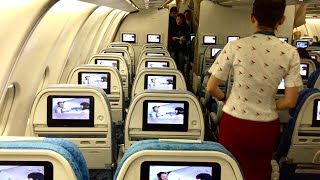 Cathay Pacific A330 Economy class | CX174 Adelaide to Hong Kong