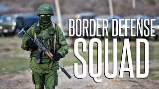 RUSSIAN BORDER DEFENSE! - 40 vs 40 - Squad Realistic Combat