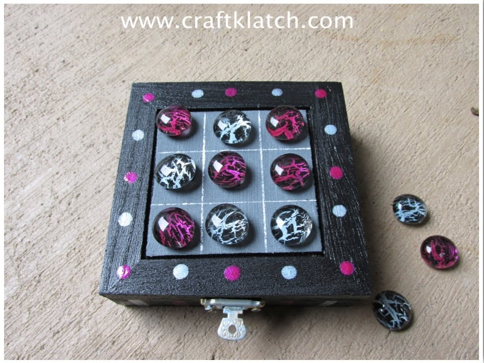 How To Make A Magnetic Travel Tic Tac Toe Game With Nail