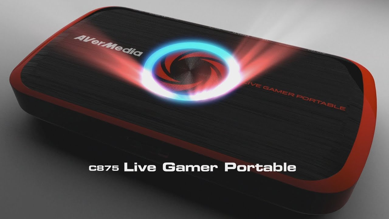 Live Gamer Portable - C875 | Product | AVerMedia