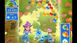 Bubble Witch Saga 2 Level 1541 with no booster & 3 bubbles left