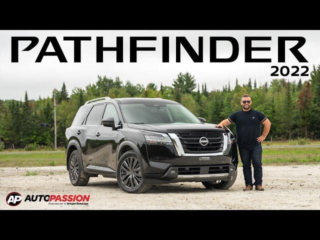 Nissan Pathfinder 2022 – Retour Aux Sources !