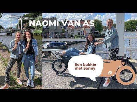 Een Bakkie Met Topsporter Naomi Van As!   Sanny Zoekt Geluk